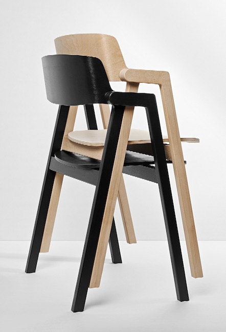 A Chair is Czarnocki's testament to simplicity. Courtesy Philippe Fragniere