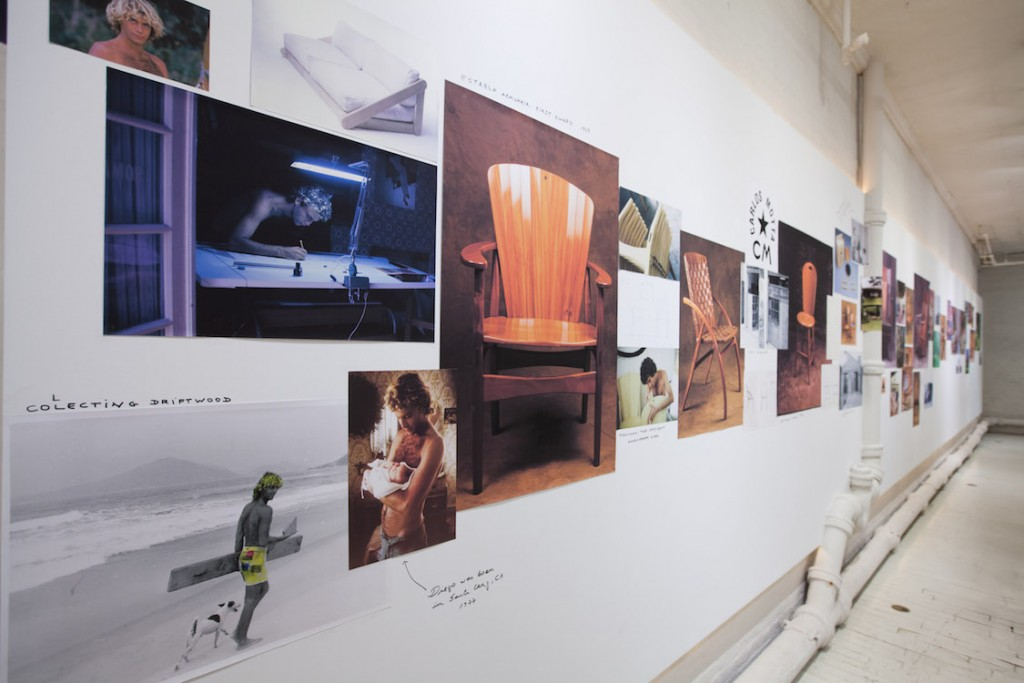 Photos, sketches and pakshots are combined to reveal something of an ethnographic retrospective of the designer's life and career. Photo Eliseu Cavalcante.