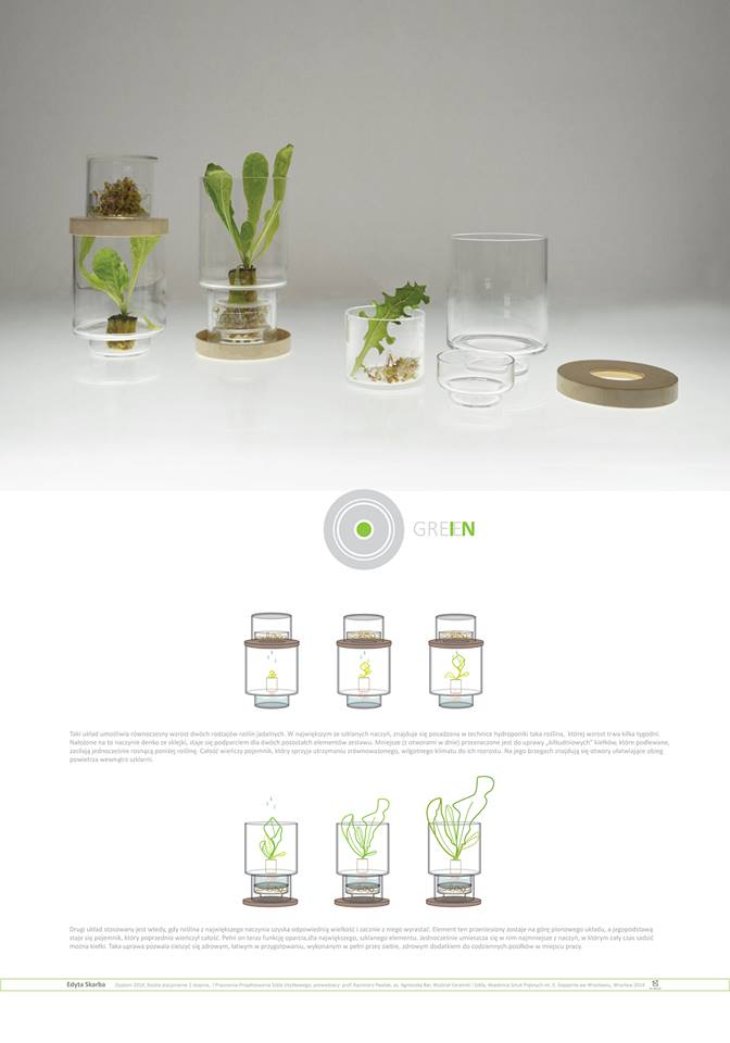 GreeIN by Edyta Skora brings plant life into the office