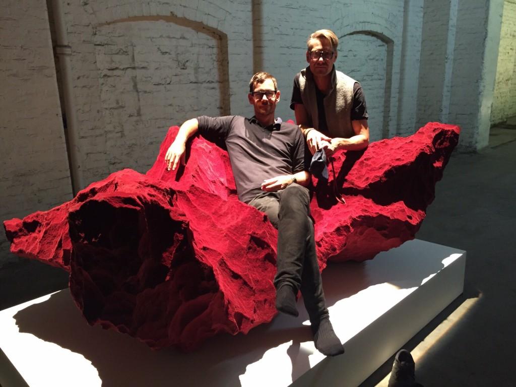 Patrik Fredrikson and Ian Stallard. Photo Lise Coirier.