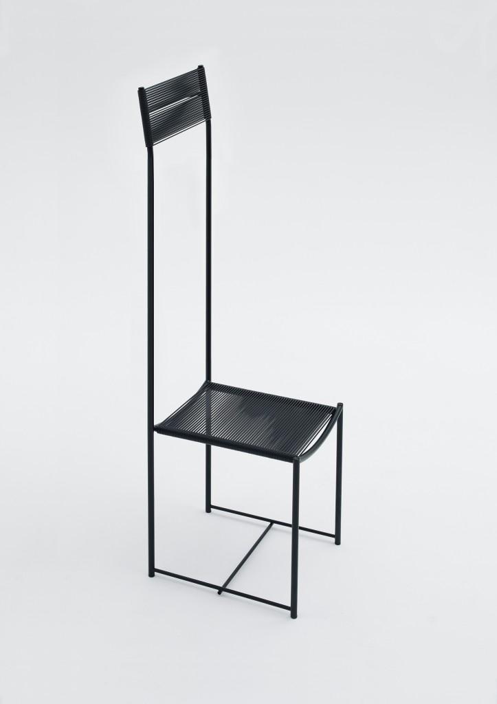 Alta tensione, edition of 7, Spaghetti Chair Limited Edition by Alfredo Häberli for Alias