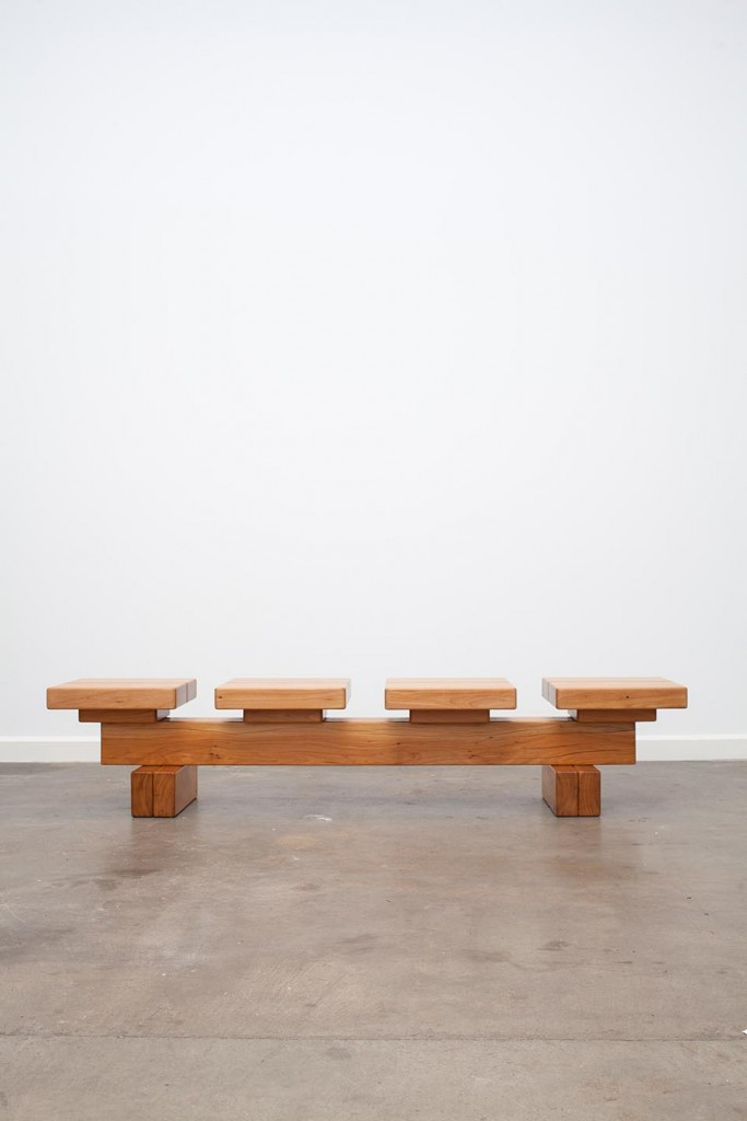 Peroba bench, limited edition.