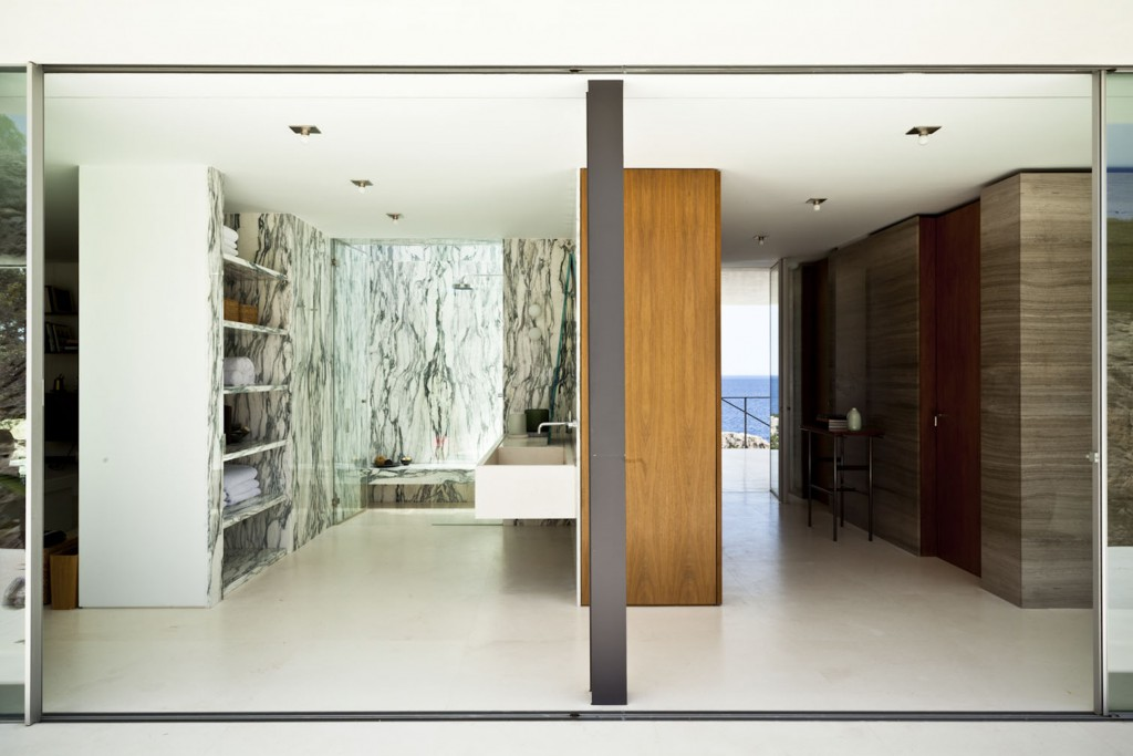 Private house in Ibiza. Photo Matthieu Salvaing.