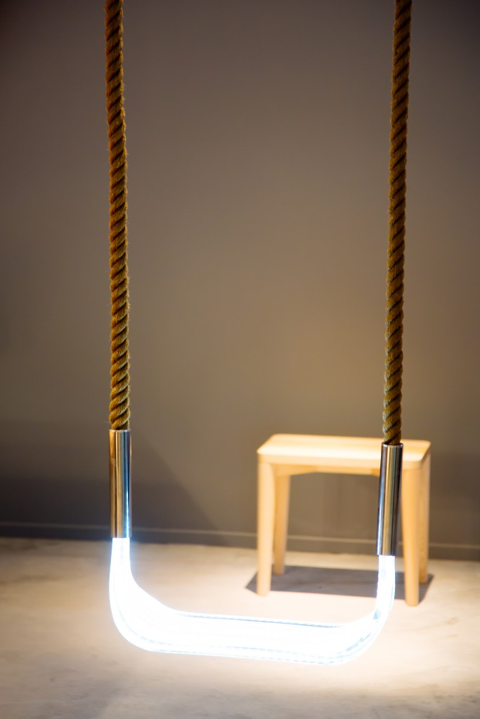Sense Light Swing by Alexander Lervik for Saas Instruments, Helsinki Design Week