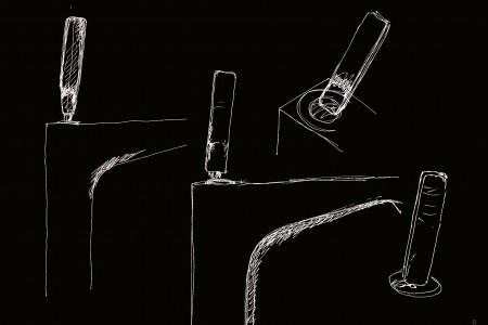 Sketches_Axor Citterio E_by Antonio Citterio
