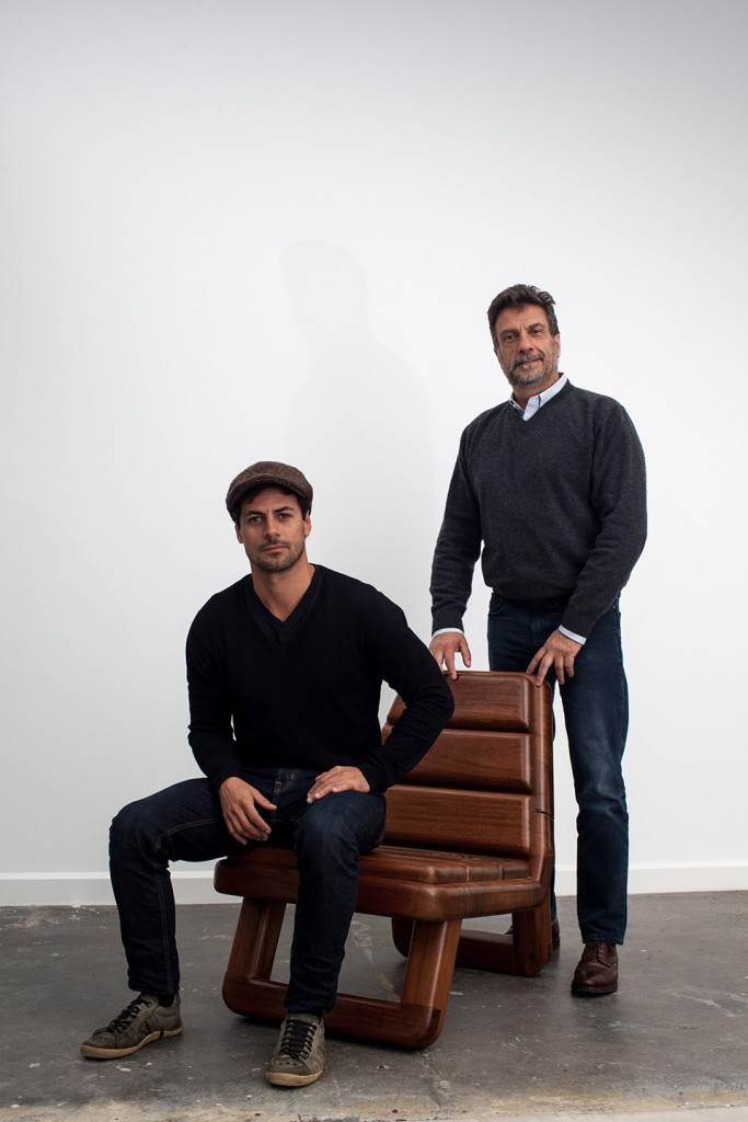 Anil armchair by Zanini de Zanine, Carlos Junqueira, founder of Espasso and designer Zanini de Zanine.