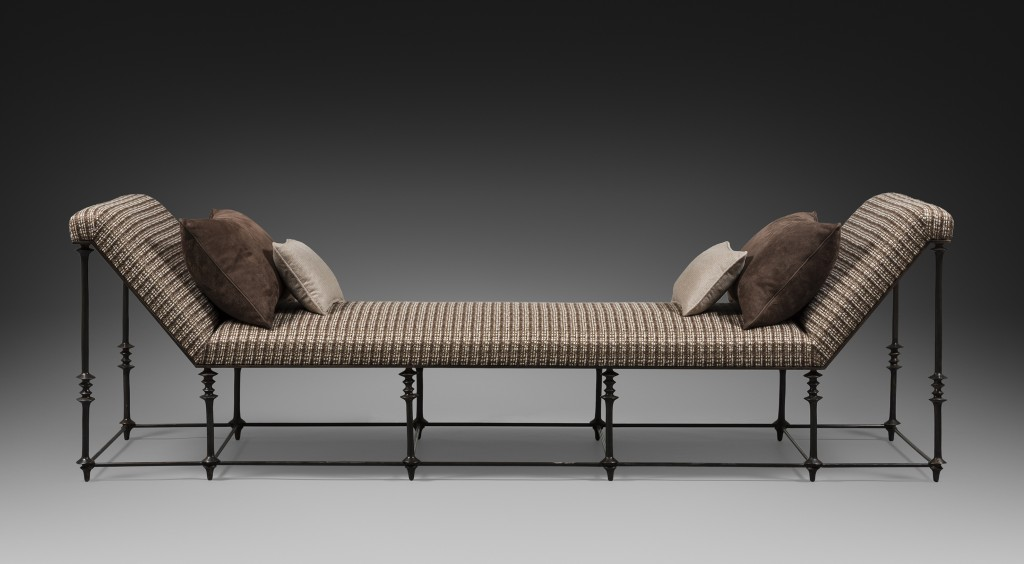 Double Daybed in Bronze by Chahan Minassian