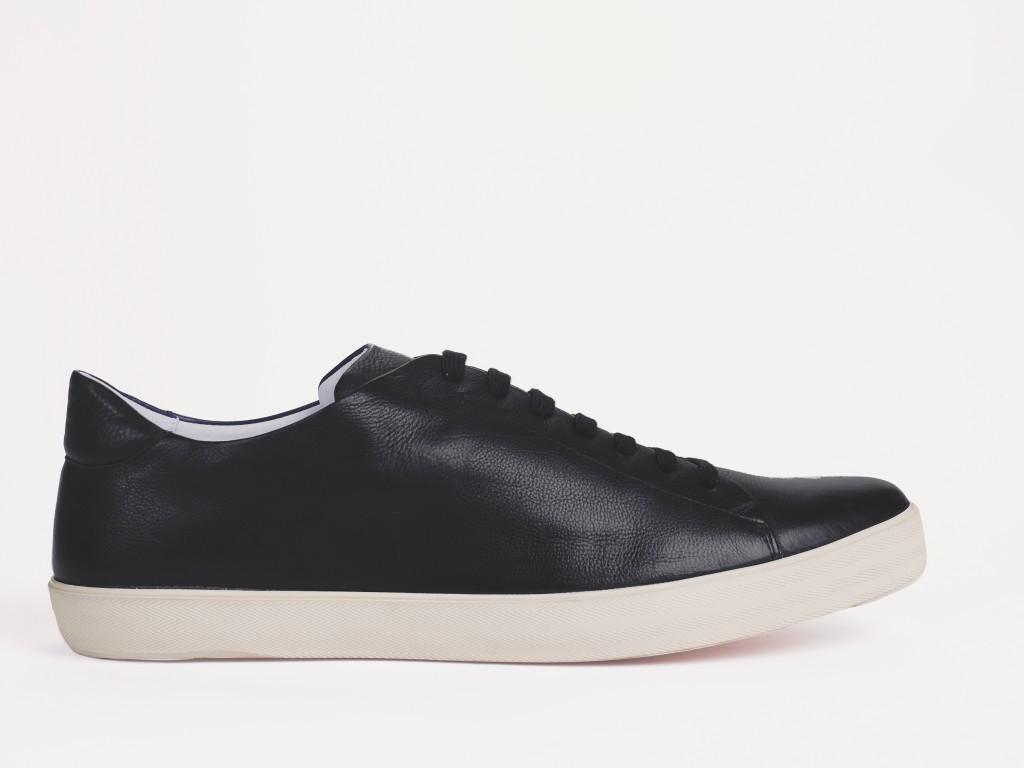 BassamFellows Crombie Sneaker Black, credit JOSHUA JORDAN