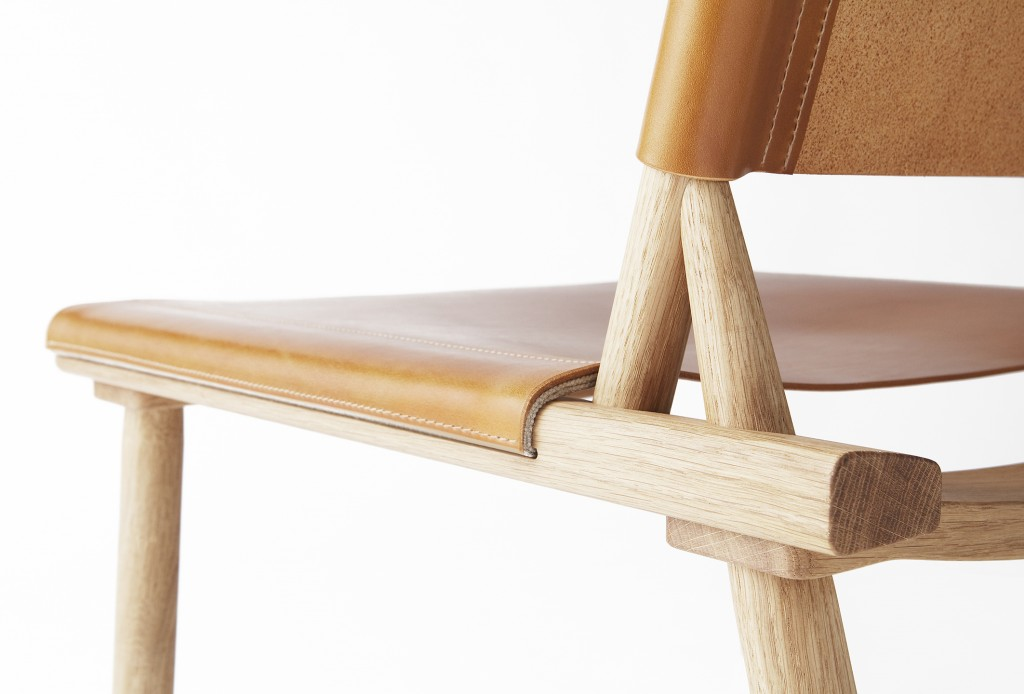 XL December Chair, design by Jasper Morrison and Wataru Kumano (2014).