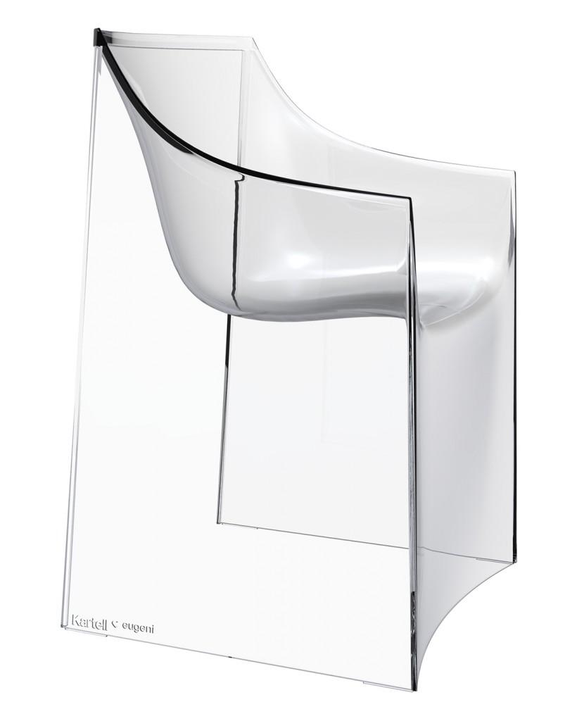 Silk armchair for Kartell (2011). Copyright Kartell.