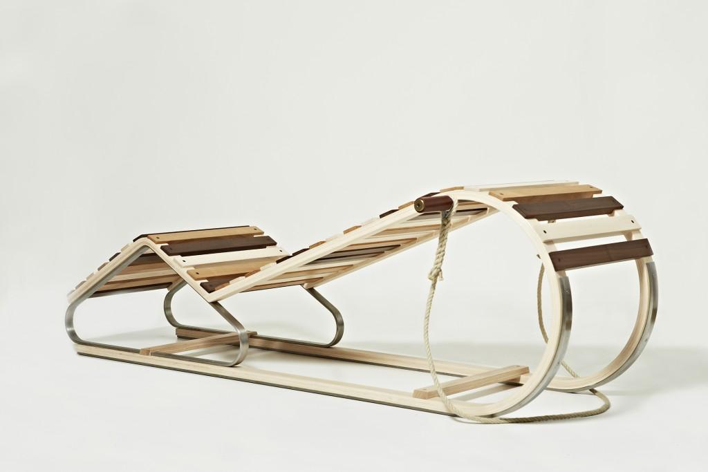 Thomas Lemut. Lounge Chair and Sled.
