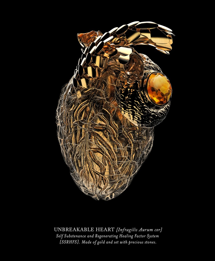 Vincent Fournier: Unbreakable Heart. From series Post Natural History.