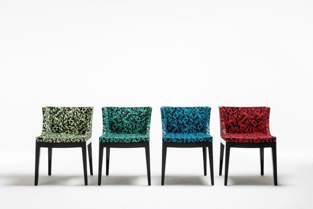 Mademoiselle Memphis by Philippe Starck, Schizzo fabric