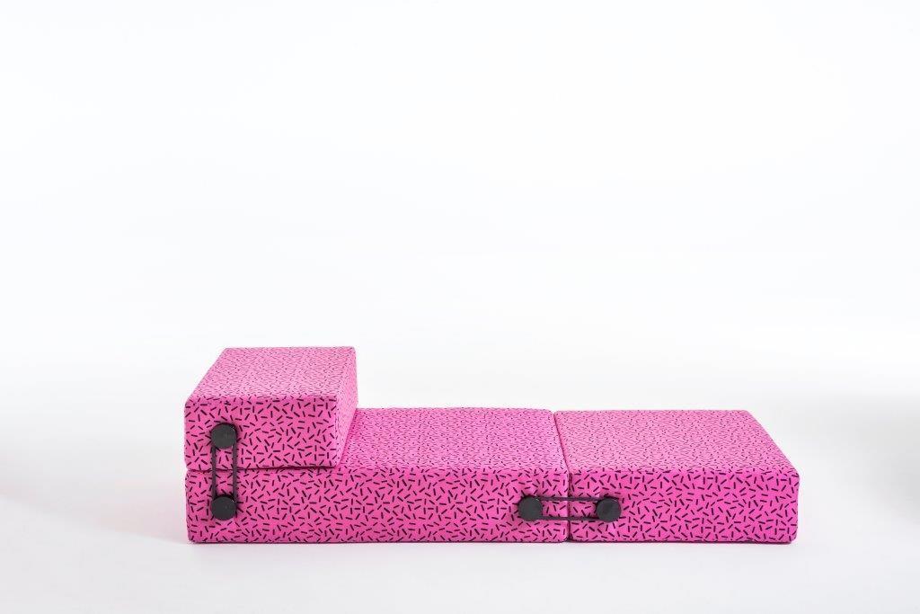 Trix by Piero Lissoni, Letraset fabric