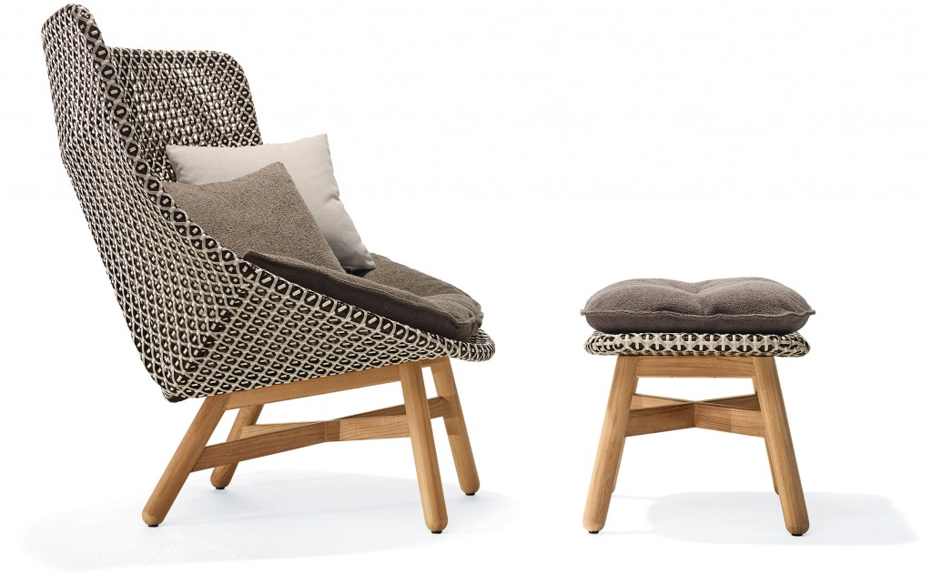 Dedon rocking chairs for outdoors tlmagazine for Dedon outdoor furniture