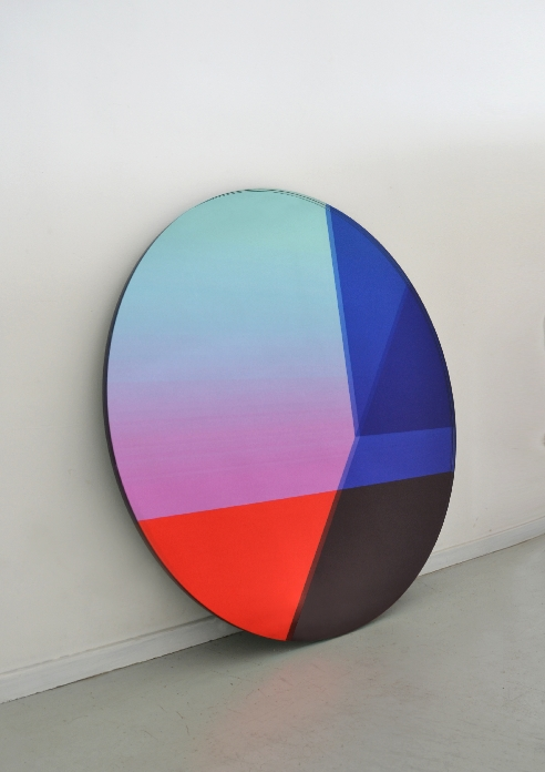 Off Round Mirror by Sabine Marcelis and Brit van Nerven, Gallery S Bensimon