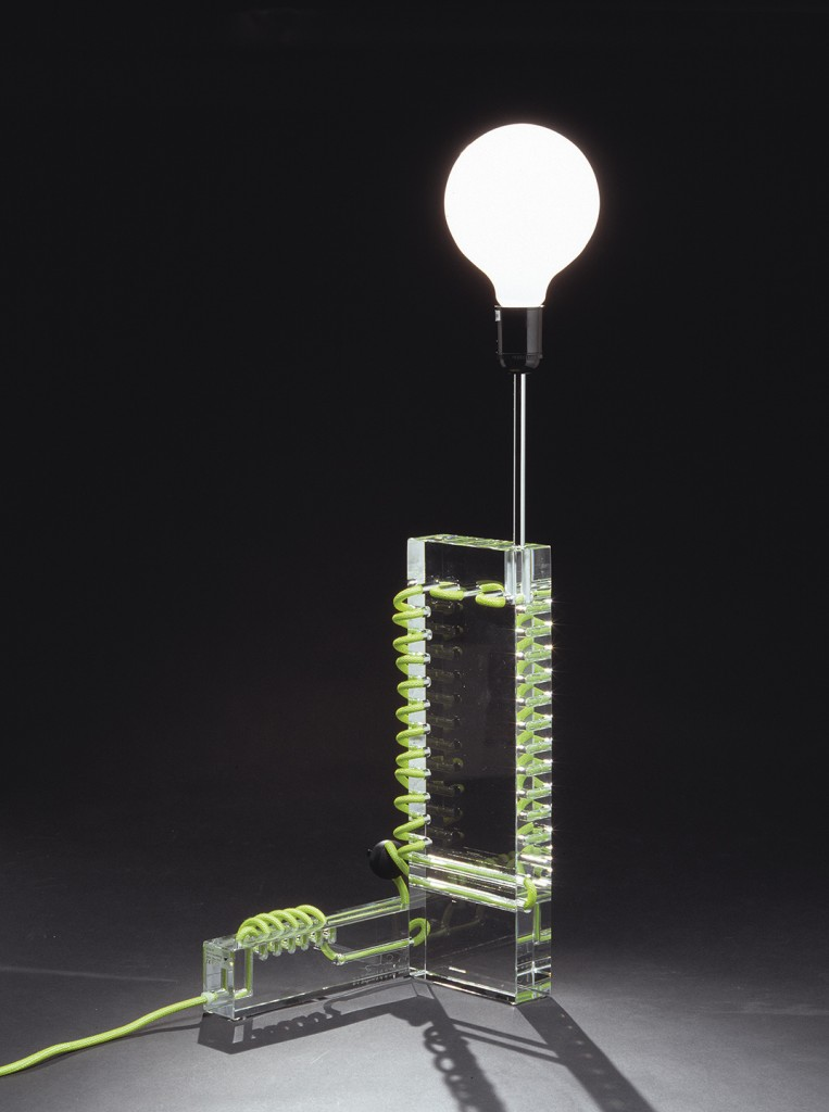 Per B. Sundberg: Table Lamp (2003). Produced by Orrefors Glassworks.