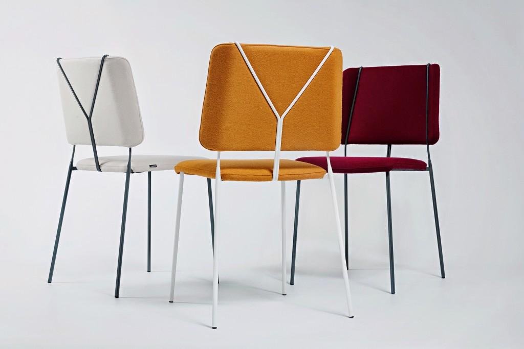Färg & Blanche: Frankie chairs. Copyright Alexander Lagergren.