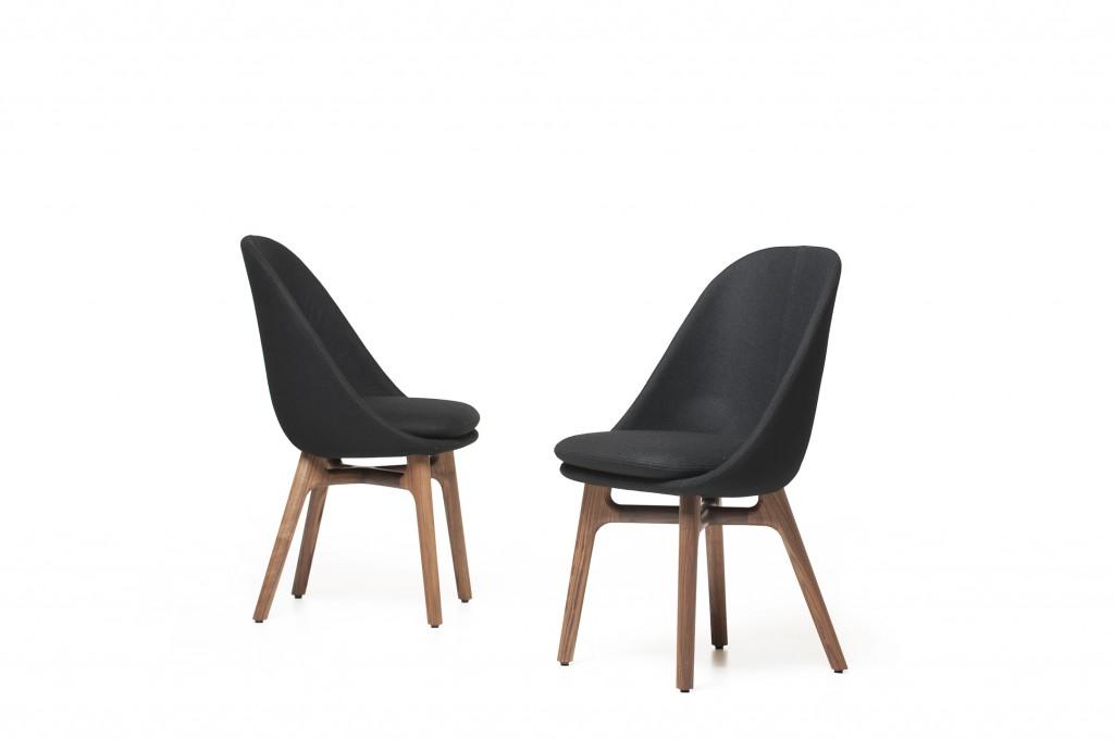 'Solo' dining chairs for De La Espada.