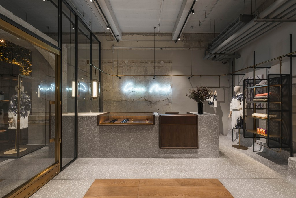 Comme Moi flagship store. Shanghai, China. Photo Dirk Weiblen.