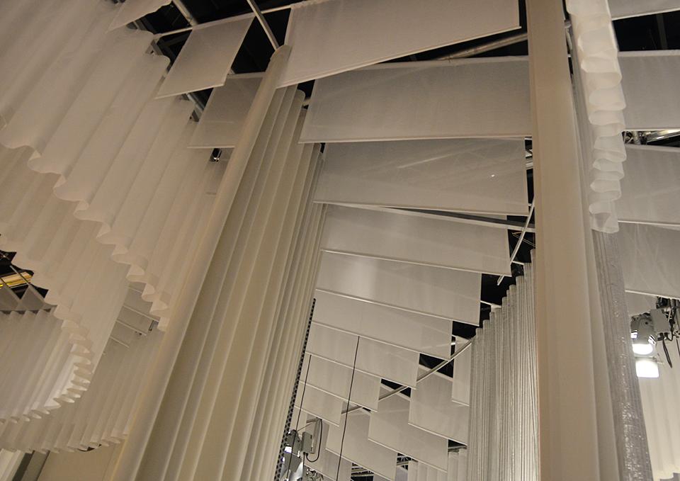 Nya Nordiska's textile in Das Haus © Constantin Meyer