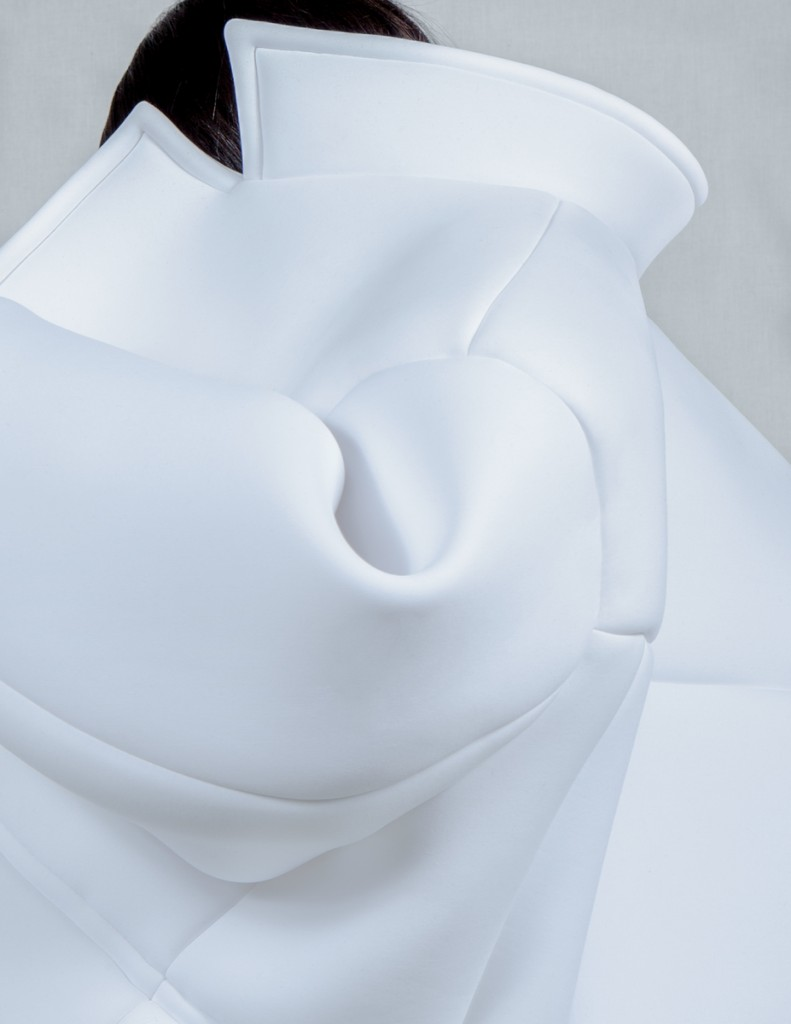 Melitta Baumeister (German, active in USA, b. 1986); Jacket (detail), from Fall / Winter 2014 Ready-to-Wear collection, 2014; Neoprene. Featured in book; alternate object will appear in exhibition