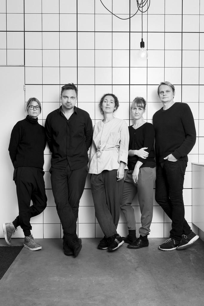 FROM LEFT. Carina Seth Andersson, Matti Klenell, Stina Löfgren, Gabriella Gustafson, Mattias Ståhlbom.