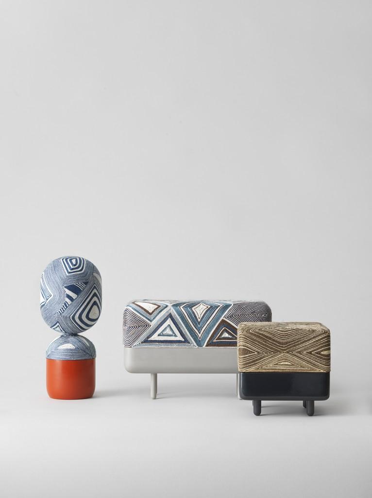 Matti Klenell: Thread Jar / Shrine for A New Layer. Photo Joakim Bergström.