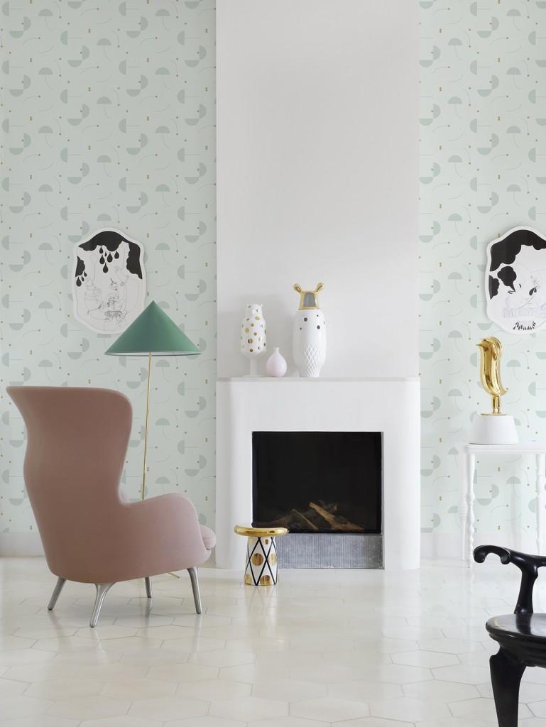 Jaime Hayon for Eco Wallpaper, 2016.