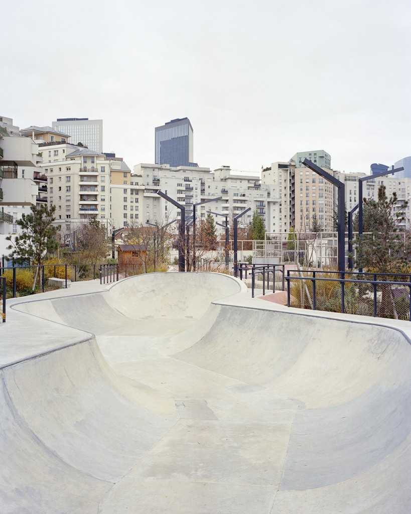 Skatepark, Courbevoie. Photography commissioned by Villa Noailles. Photo Stéphane Ruchaud, 2016.