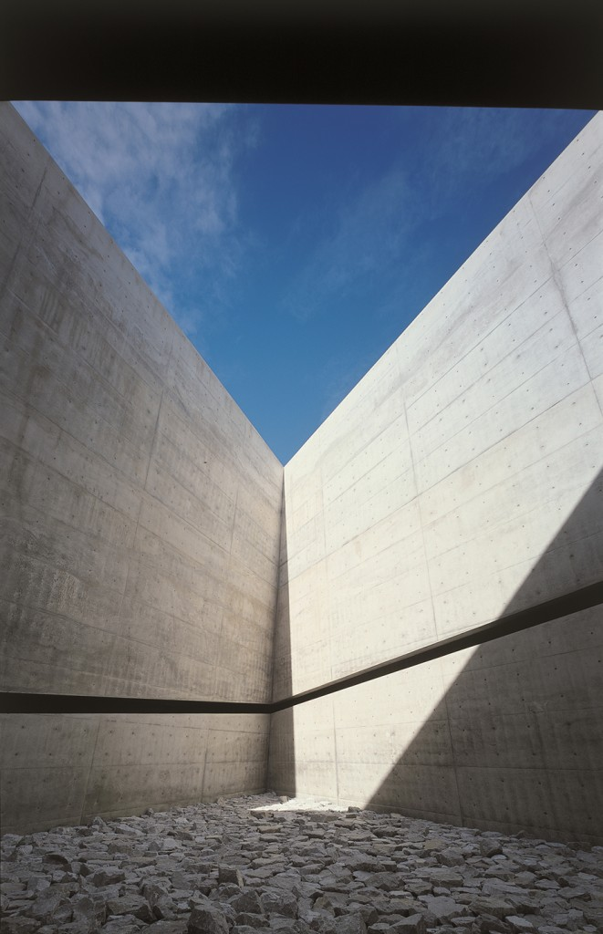 Chichu Art Museum. Photo Mitsuo Matsuoka.
