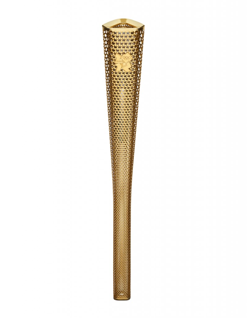 Olympic Torch for London Olympics 2012.