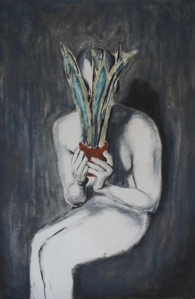 Untilted by Robert Van Wynendael, 2015 Lead on pencil, 70 x 50 cm