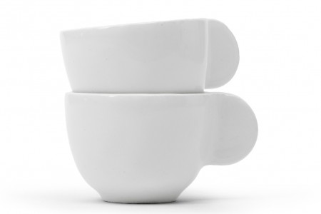 Luca Nichetto: Little Big Ear espresso cup (2016) for Smaller Objects. Produced in Italy.