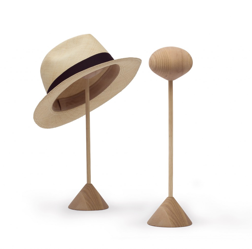 Claesson Koivisto Rune: Panama hat rest (2016) for Smaller Objects. Produced in Sweden.
