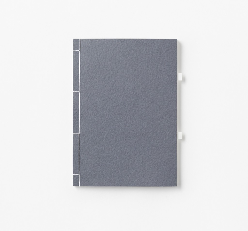 Nendo: Tab Note note book (2016) for Smaller Objects. Produced in Japan.