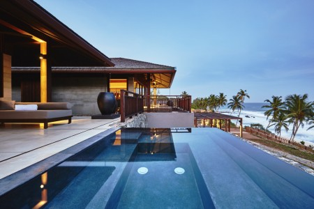 Ani Villa was designed on a site whose exceptional landscape has been preserved