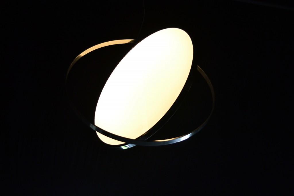 Moon lamp by Nathalie Dewez