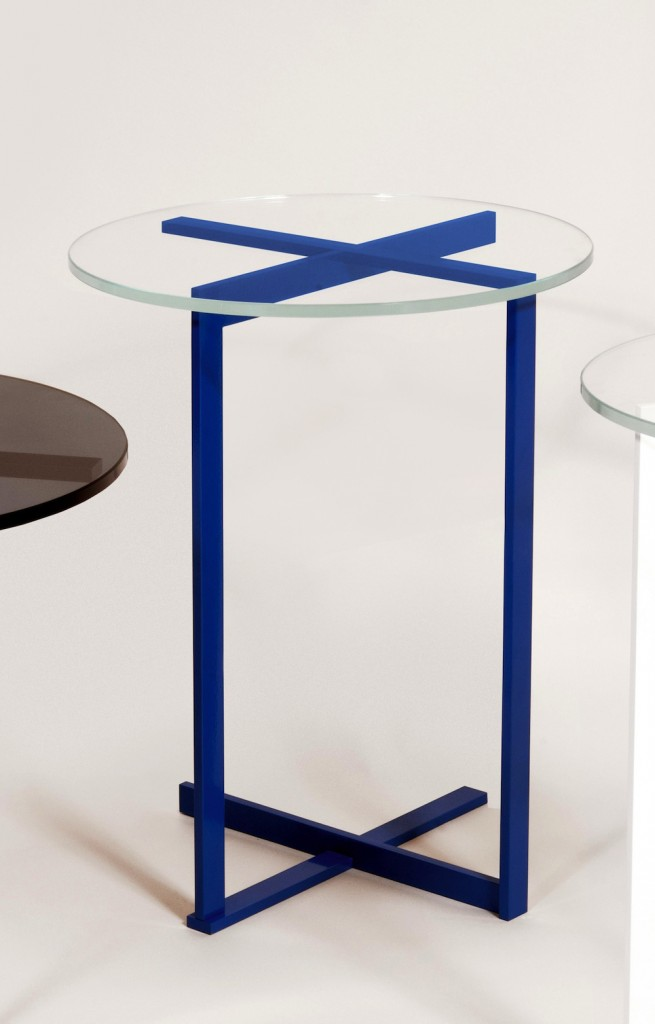 Juniper peasant table-blue