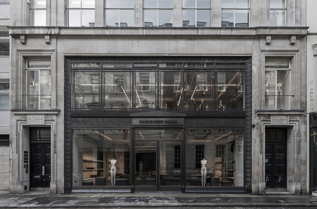 Vincent Van Duysen Architects: Alexander Wang London flagship store. London, UK. 2014—2015.
