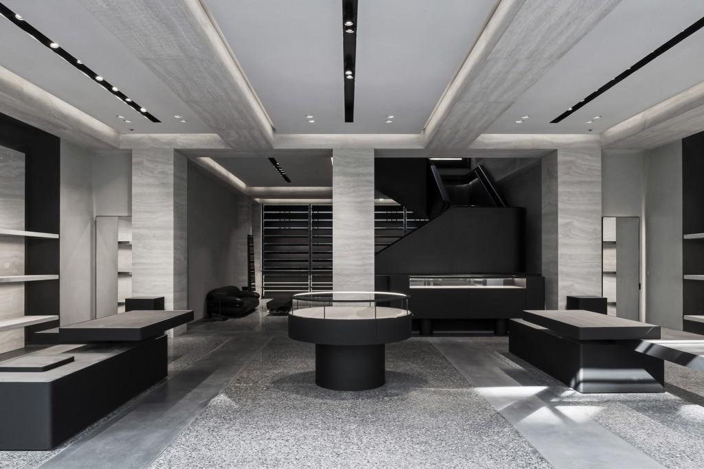 Vincent Van Duysen Architects: Alexander Wang London flagship store. London, UK. 2014—2015.