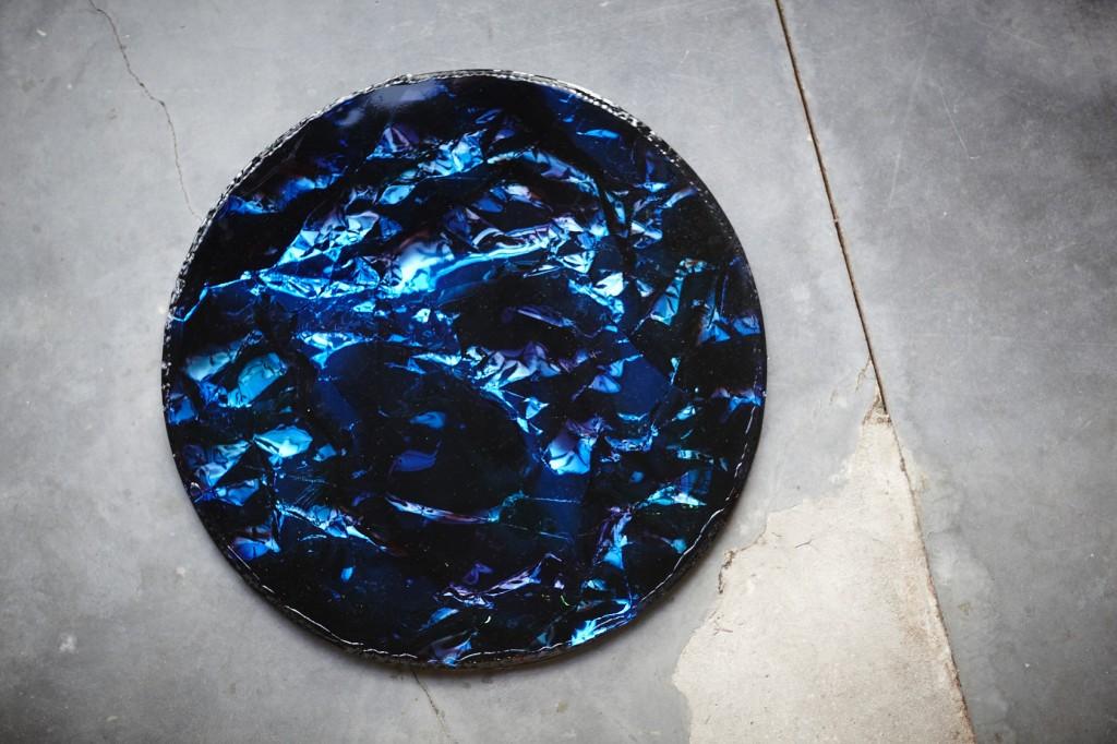 modern blue object 2