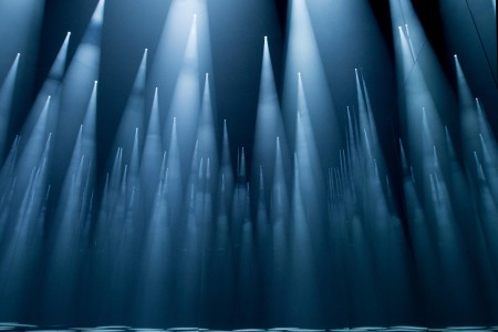 "COS x Sou Fujimoto, ""Forest of Light"" (photo courtesy of COS)"