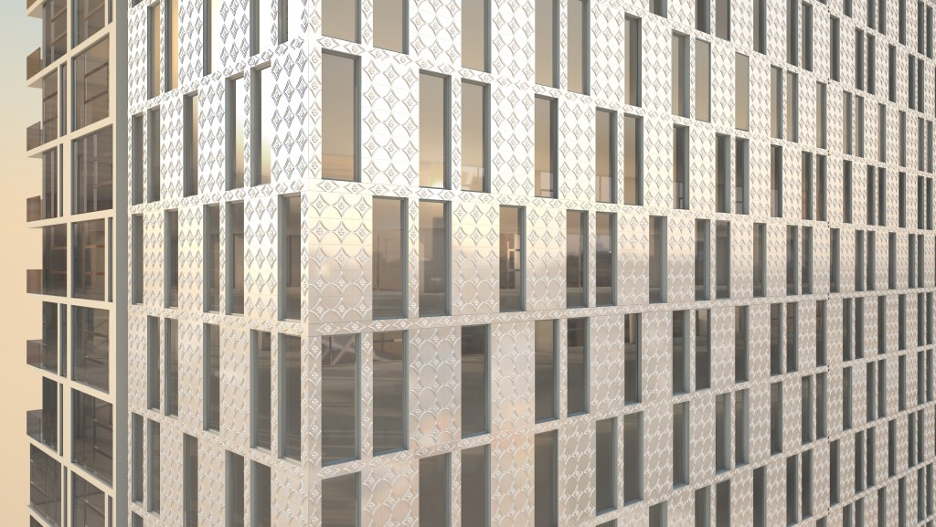 Brooklyn facade, detail