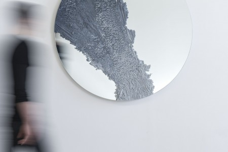 DRIFT Mirror (Untitled 1) by FM/s, sand & mirror