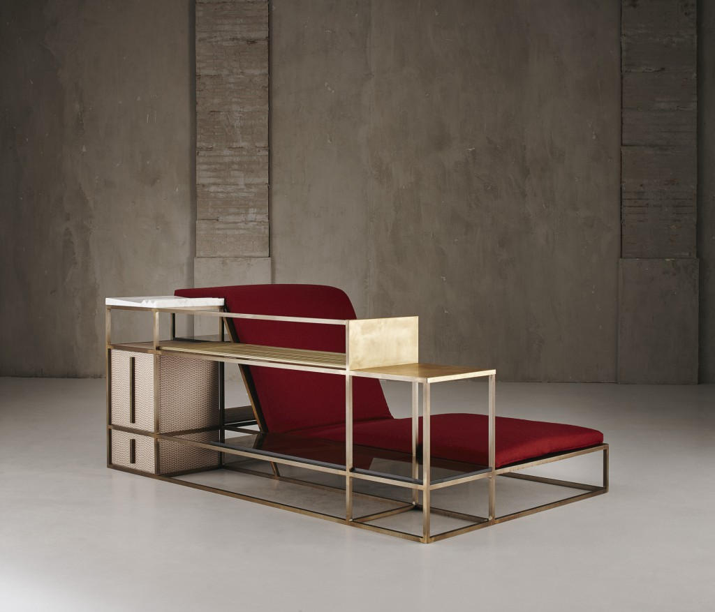 """Living in a Chair"" by Federico Peri for Galleria Nilufar"