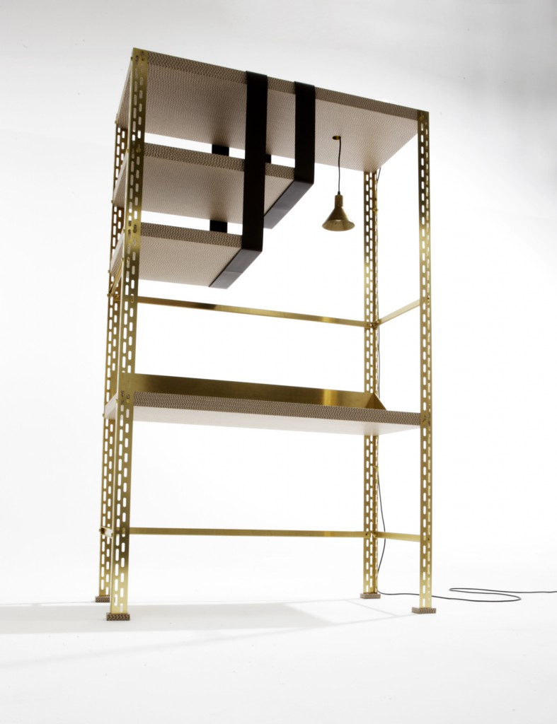 """Scaffale d'arte"" by Federico Peri for Galleria Nilufar"