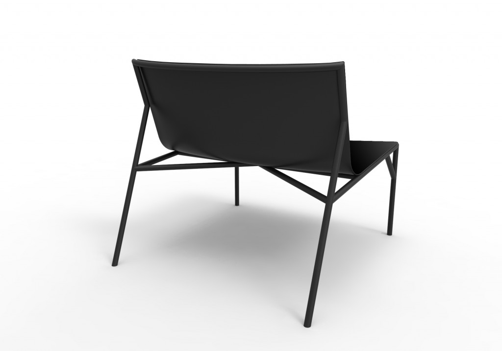 """Tout le Jour"" chair by Marc Thorpe for Horm"