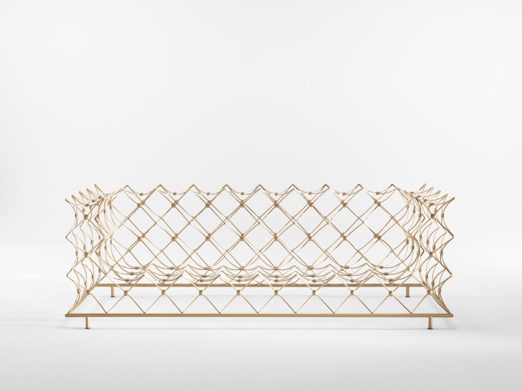"""""""Orauro"""" sofa by Emanuele Magini for JCP (Photo by Silvio Macchi)"""