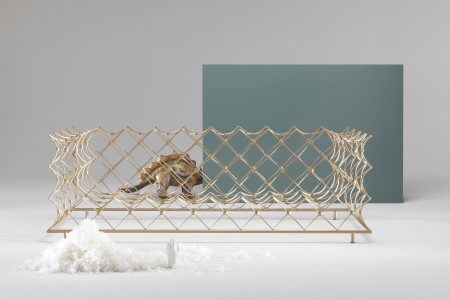 """Orauro"" sofa by Emanuele Magini, styled by CTRLZAK, for JCP (Photo by Silvio Macchi)"